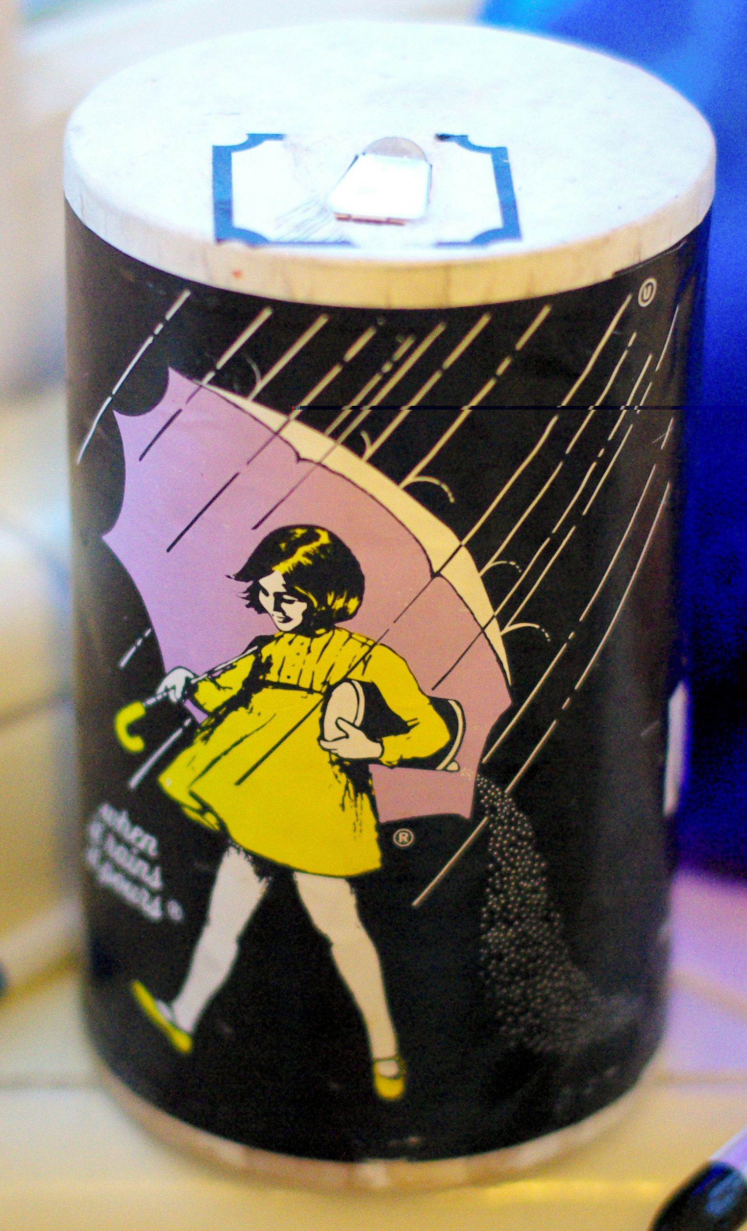 Morton Salt box