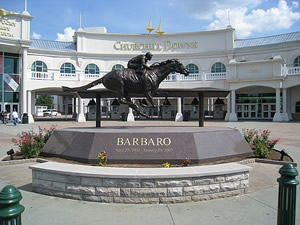Barbaro Memorial at the Kentucky Derby Museum