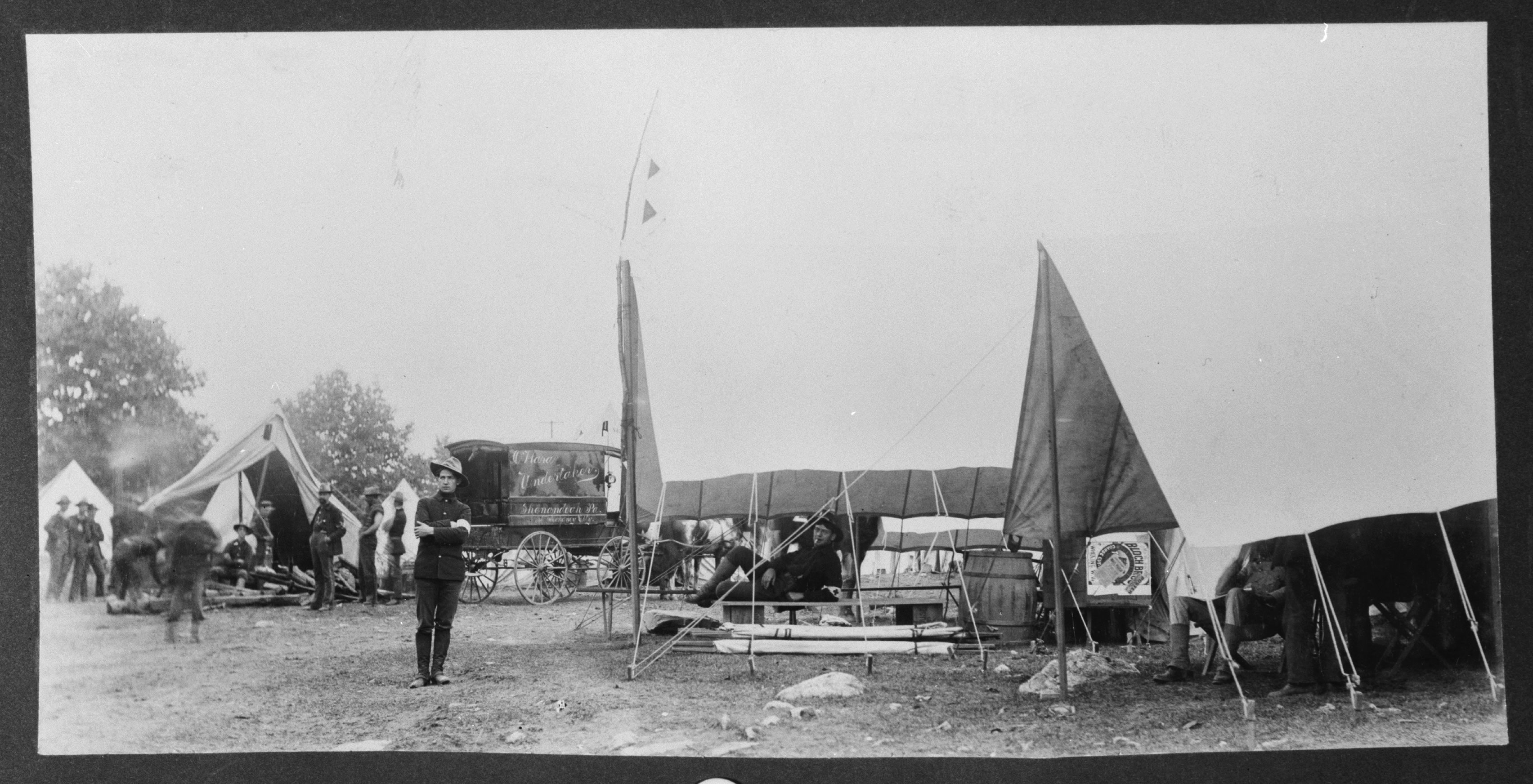 Red Cross Tents