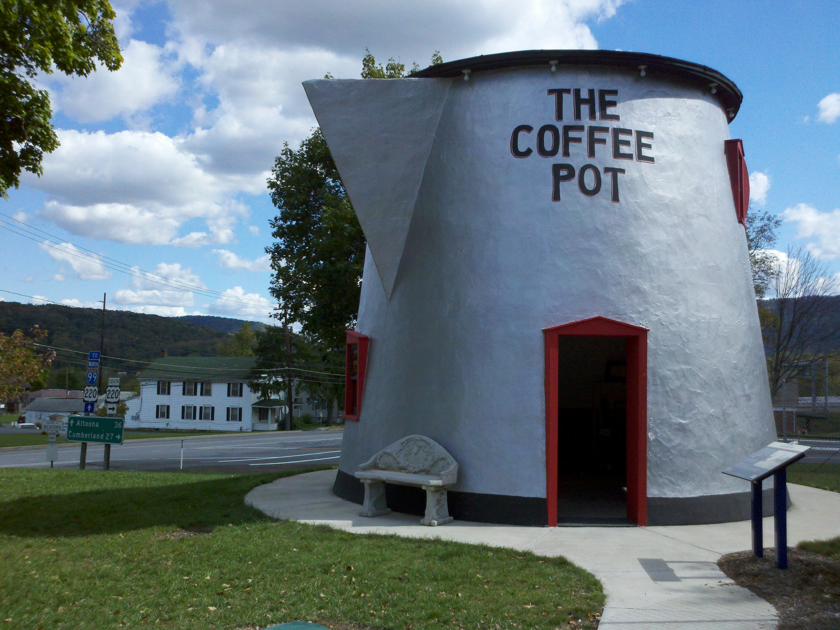Bedford Coffee Pot at the County Fairgrounds