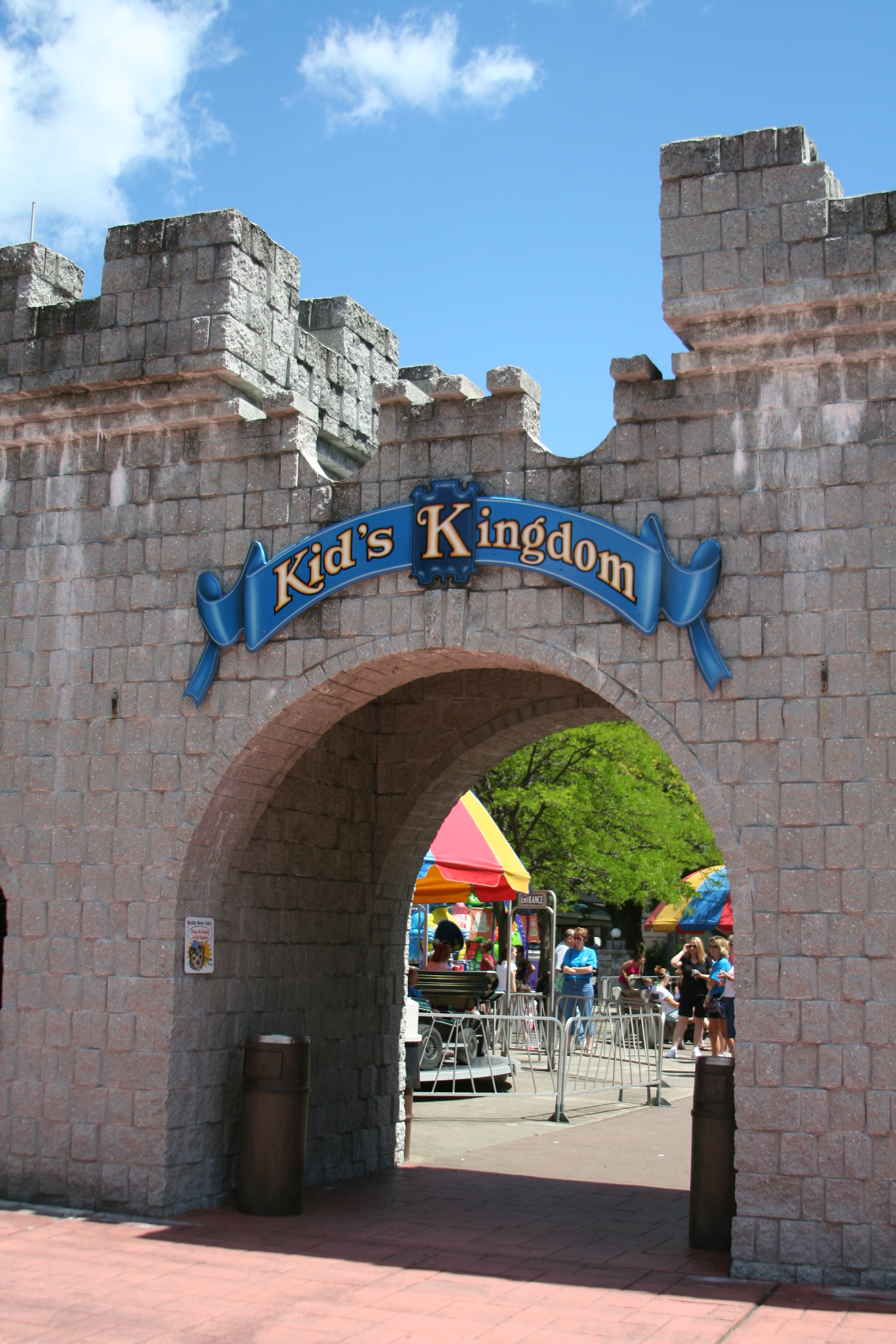 Kid's Kingdom at DelGrosso's Amusement Park