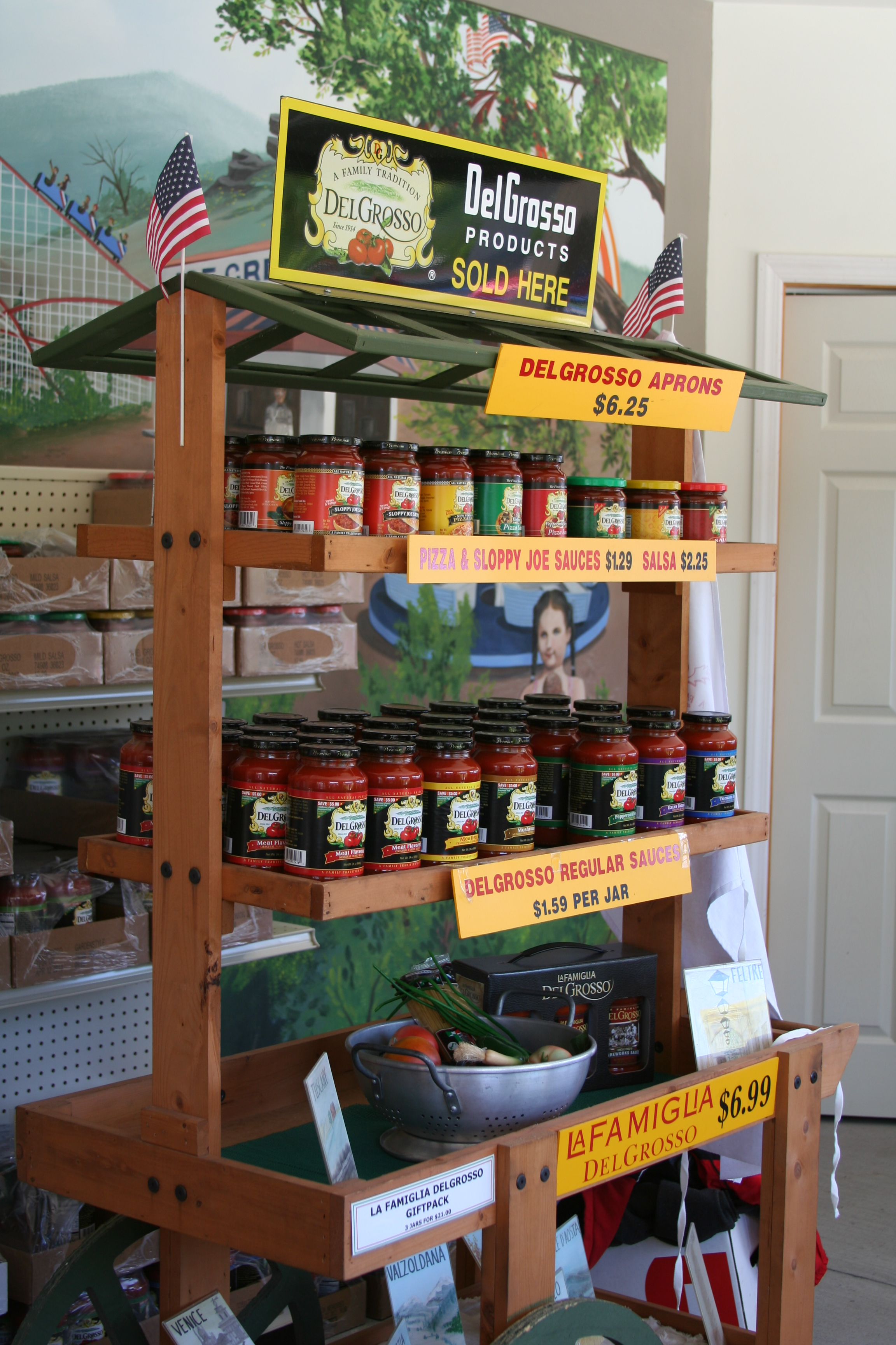 Gallery of DelGrosso's sauces