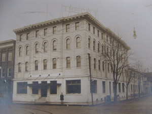 The City Hotel, post 1914 fire