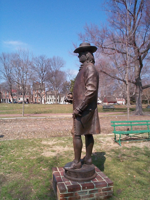 Statue of William Penn