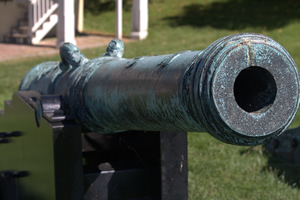 Cannon at Fort Mifflin