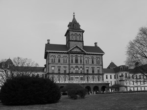 Black and White photo of Danville State Hospital