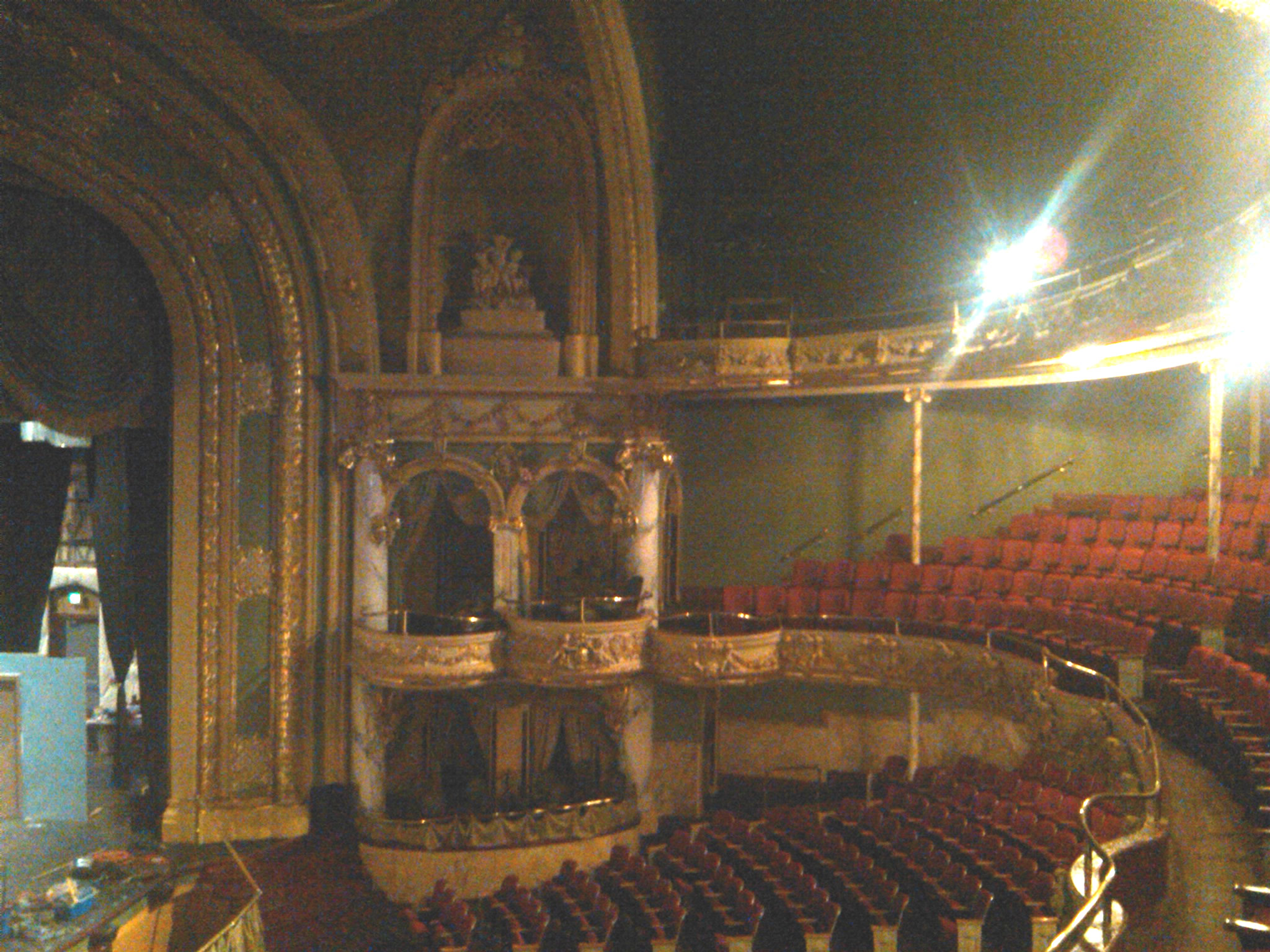 Interior of the Mishler Theatre