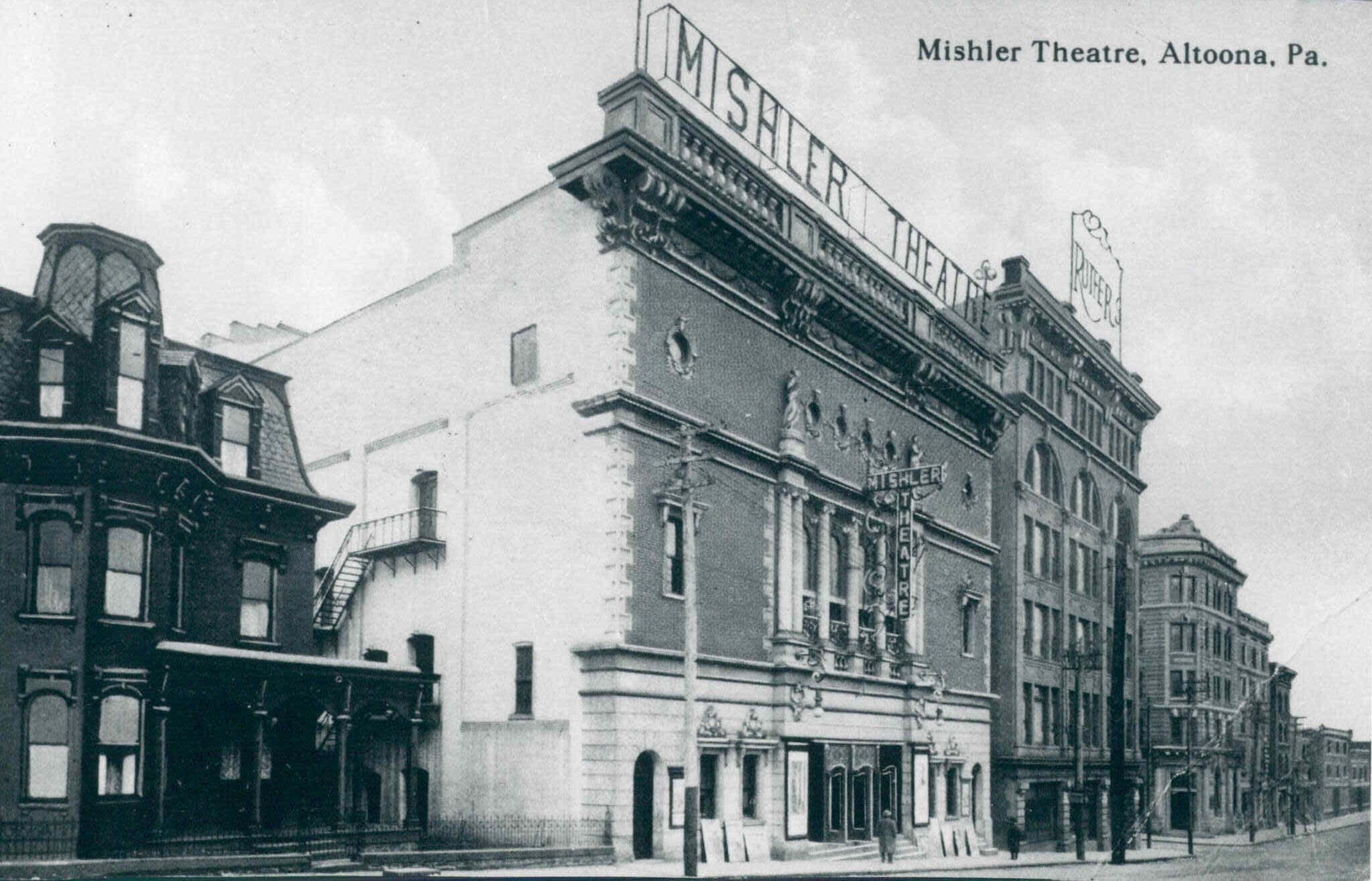 The Mishler Theatre shortly after construction