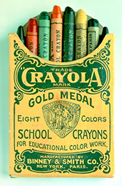 Original Box of Eight Crayons