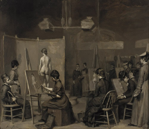 Alice Barber's Female Life Class