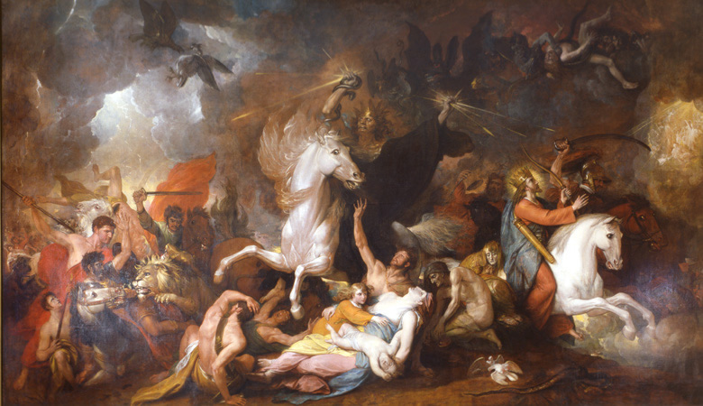 Benjamin West's Painting, Death on a Pale Horse