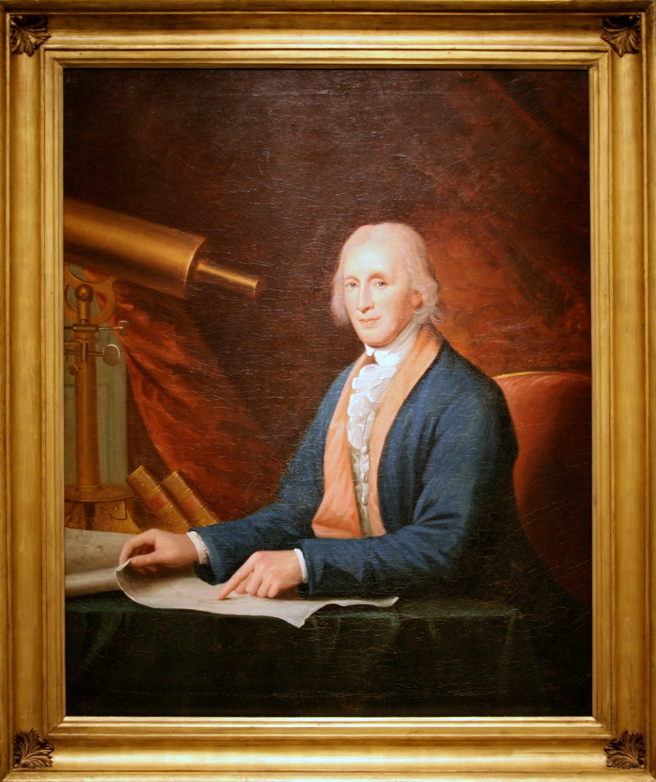 Portrait of David Rittenhouse by Charles Willson Peale