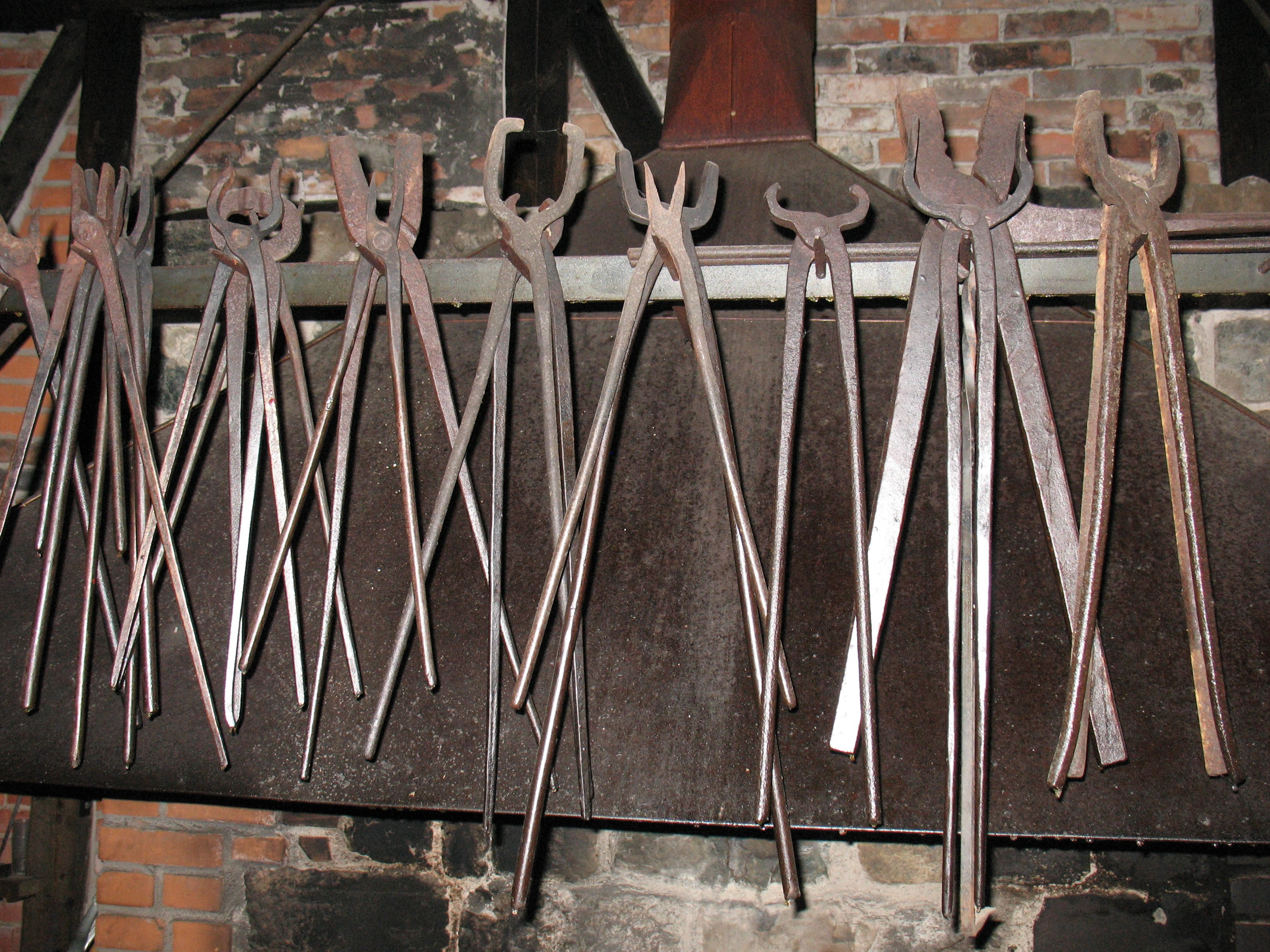 Early Iron Workers' Tools