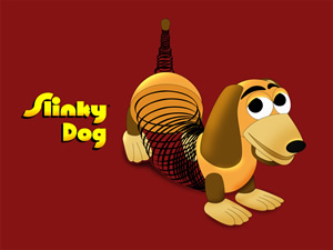 The Slinky Dog