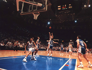 1992 NCAA Men's Basketball semi-final Game at the Spectrum