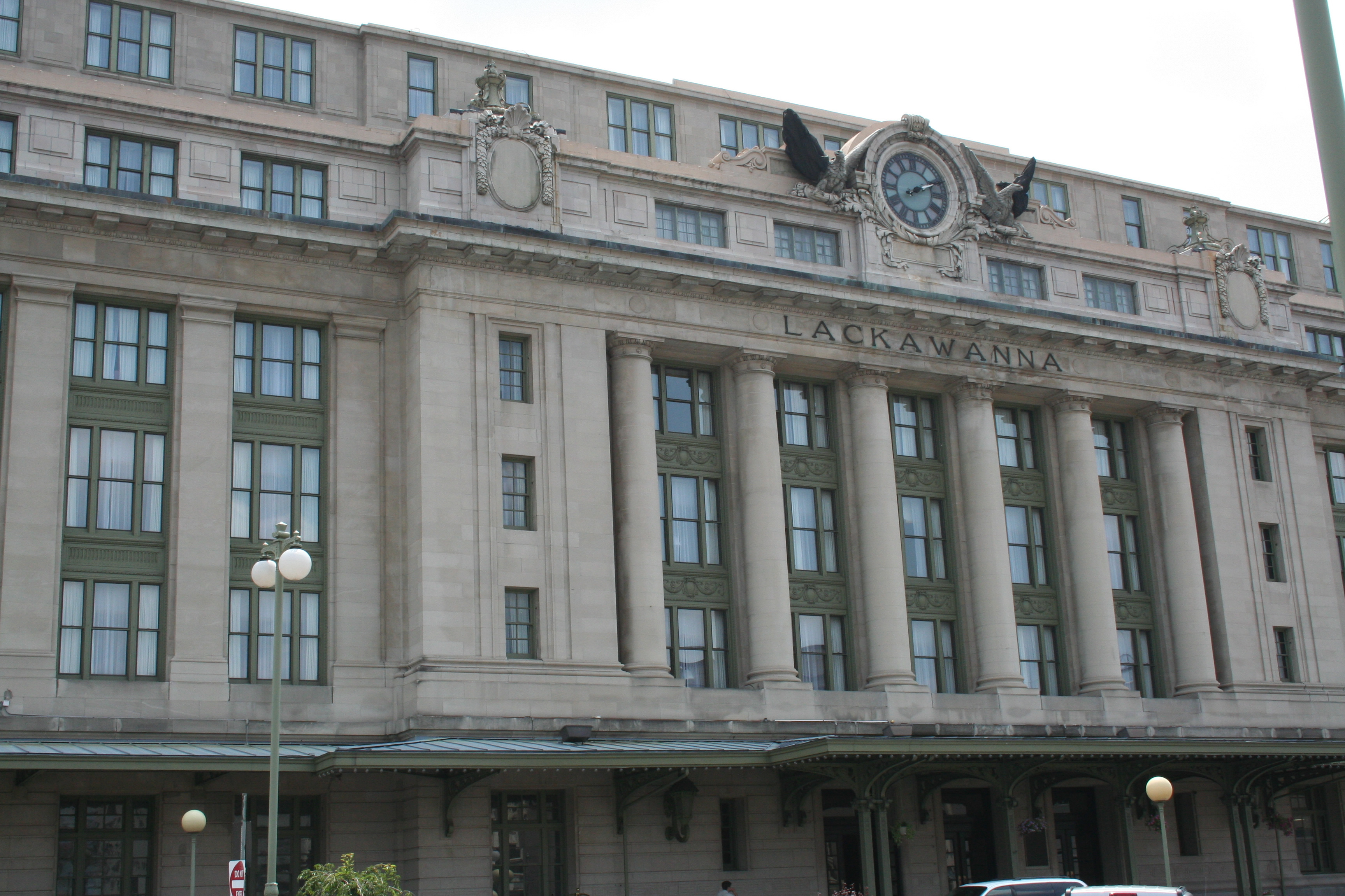 Exterior of Radisson Lackawanna Station Hotel