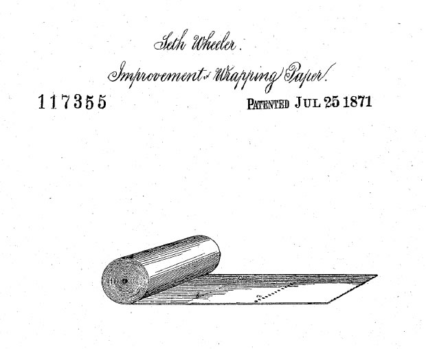 Seth Wheeler's Patent Diagram