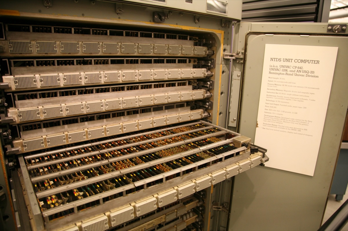 Circuitry of a UNIVAC computer