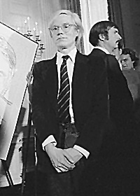Andy Warhol at the White House