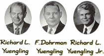 Yuengling management over the years
