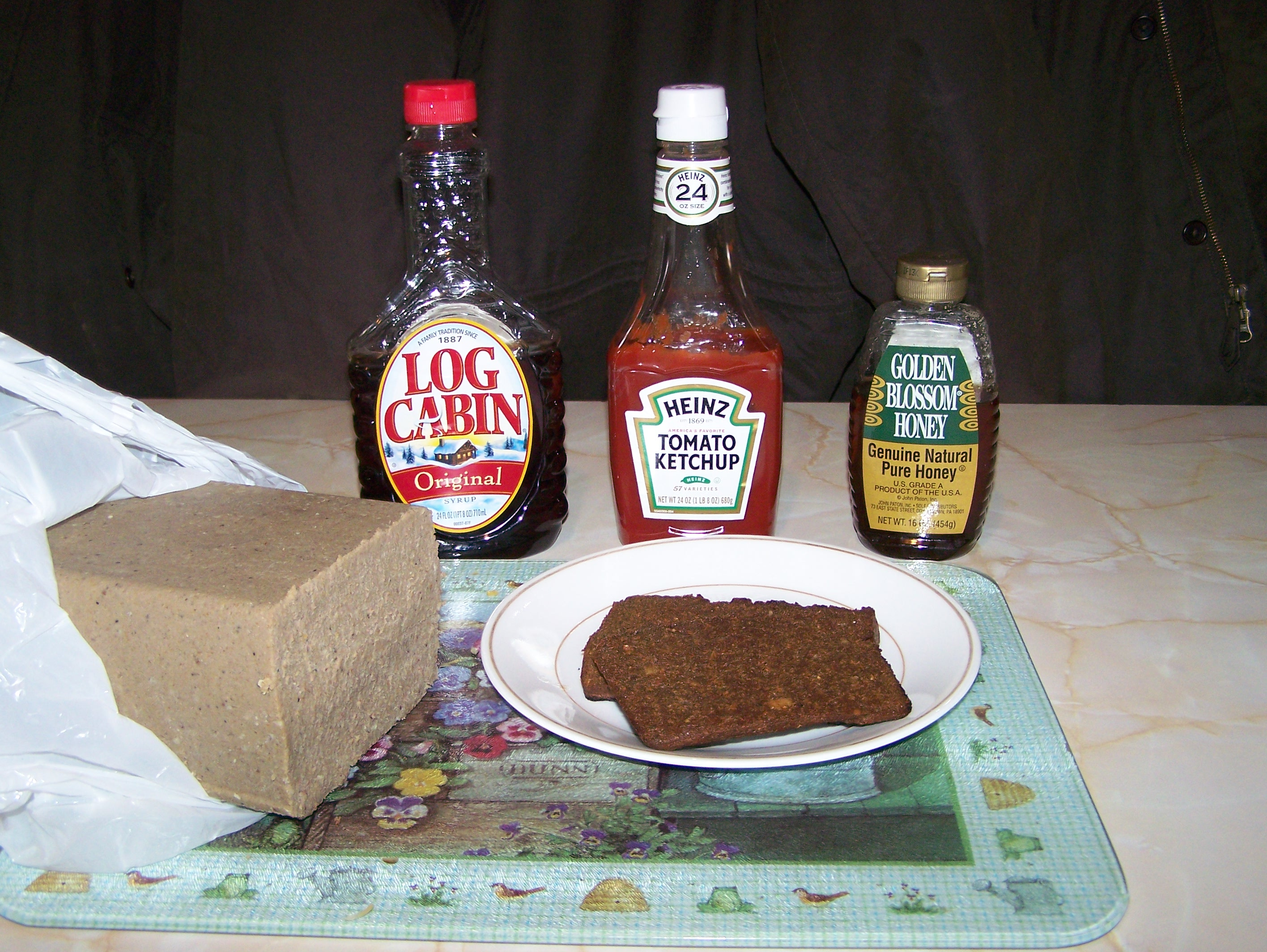 scrapple condiments